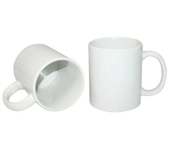 Wholesale Easy To Custom Design Sublimation Blank White Ceramic Mug