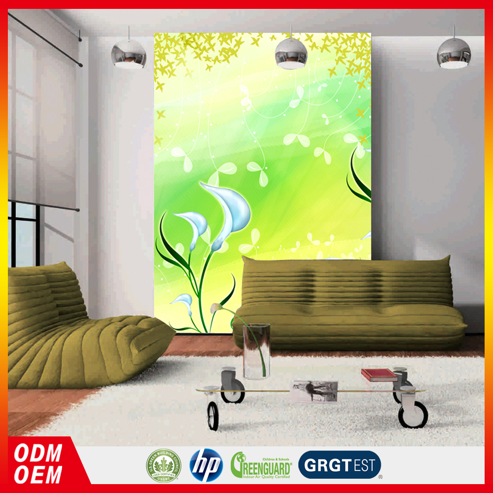 attactive printable light color design wall murals for home wall decor