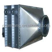 Waste heat recovery heat exchanger with carbon steel fin tube