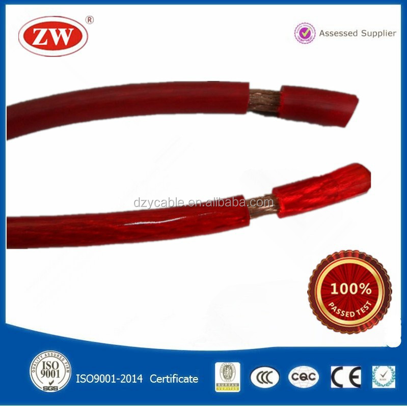 4 Gauge Red Power Wire Cable 4AWG Car Audio Ground Cable