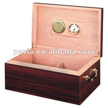 wooden cigar gift box humidor box with finish  sc 1 st  Alibaba & Wooden Cigar Gift Box Humidor Box With Finish