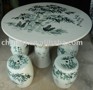 Ceramic Garden Table Set Supplieranufacturers At Alibaba
