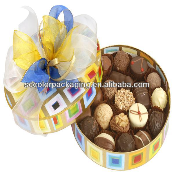 Wholesale custom made empty chocolate gift box pictures