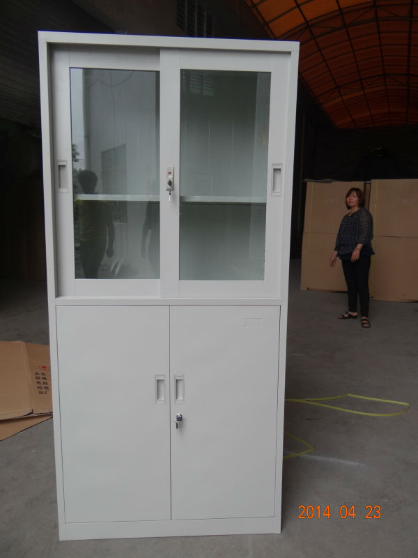 Hanging Display Kitchen Double Sliding Door Tracks And Rollers Steel  Cabinets For Sale