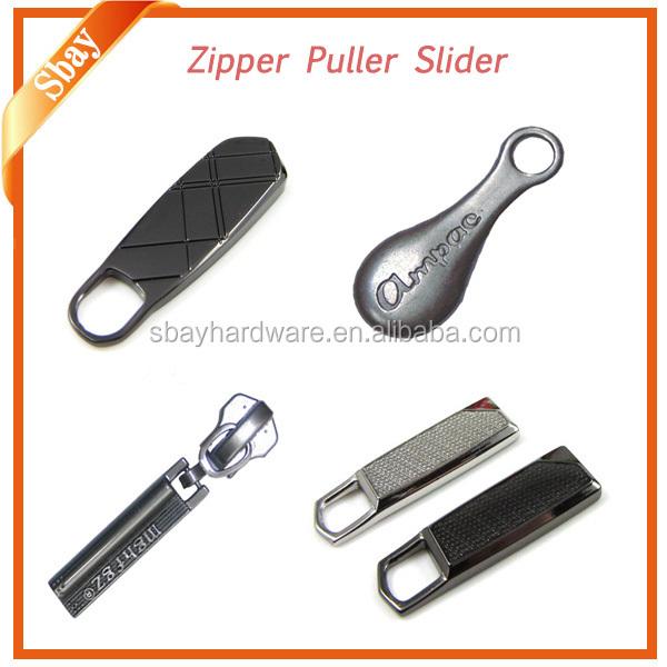 Custom zipper pulls tab for zipper