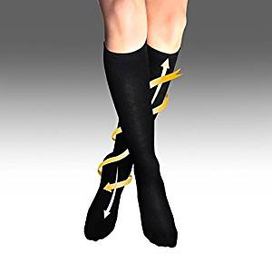 ff0393c6f7 Anti Embolism Compression Stockings By LightStep (Black) Knee High  Maternity Compression Stockings For Pregnancy