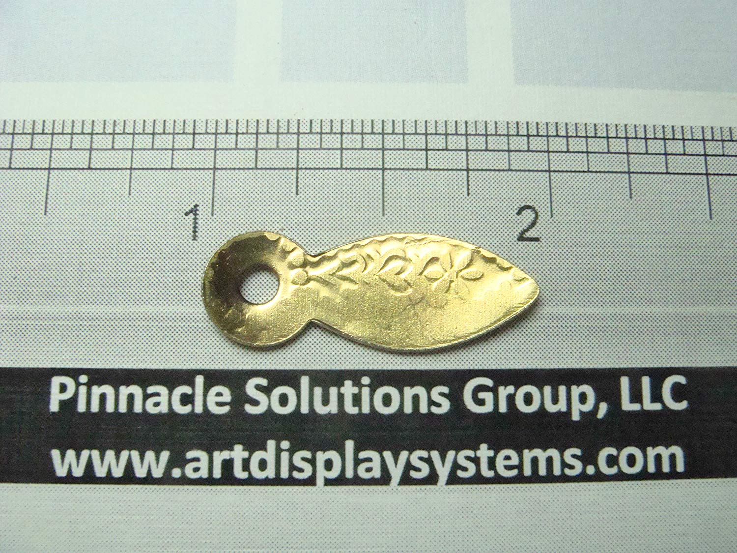 """25 Brass Plated Decorative Picture Frame Turn Buttons 1"""" FRAMING BACKING FURNITURE REPAIR"""
