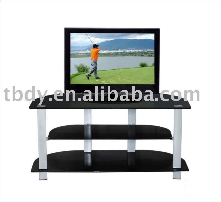 glas lcd tv st nder plasma tv st nder tv m bel produkt id. Black Bedroom Furniture Sets. Home Design Ideas