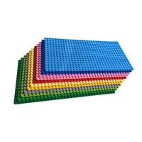 Beginner Large Bricks 16*32 Baseplate 100% Compatible with Mega Bloks First Building Blocks Large Pegs for Child diy toy