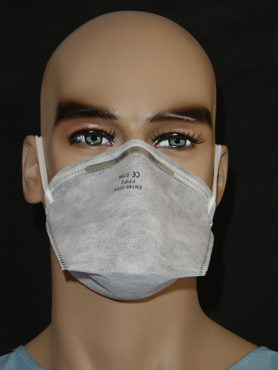 Disposable Active Carbon Ffp1 N95 Respirator Dust Mask