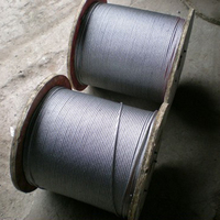 Right Hand Ordinary Lay Type Galvanized 719 Aircraft Cables