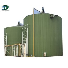 Popular high effciency biogas container for biogas digester