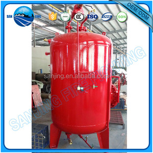 2016 new product security fire foam tank system