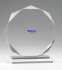 Blank acrylic medal stand Perspex plaques corporate awards