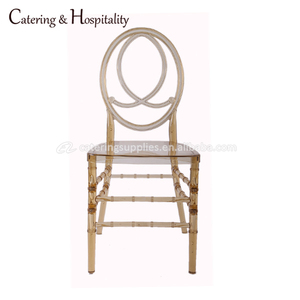 wholesale Polycarbonate wedding and event tiffany chiavari chair crystal Clear Resin phoenix chair for sale
