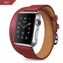 Ремешок для часов, из натуральной кожи, для Apple Watch, 44 мм, 40 мм, iwatch, серия 5, 4, 3, 2, 38, 42 мм, женский(Китай)