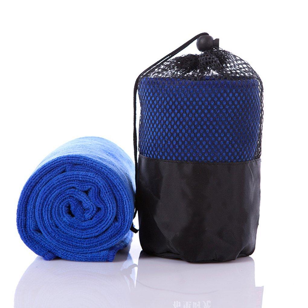 PW-1000-Z078 Proworks Microfibre Sports Towel with Bag Black XL