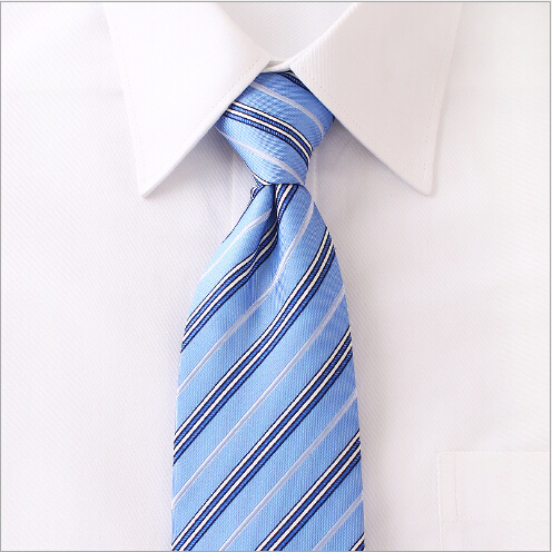 wholesale men stripe slim nano necktie