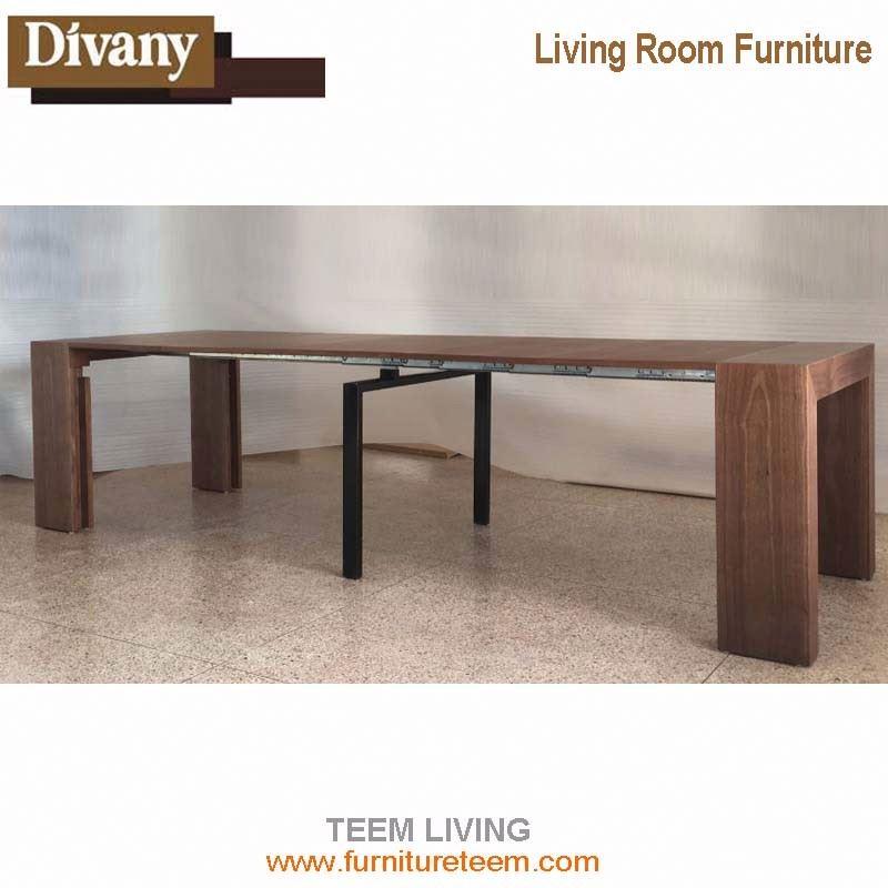 8 12 Person Folding Dining Table Diy Modern Furniture White Coffee Mdf Veneer