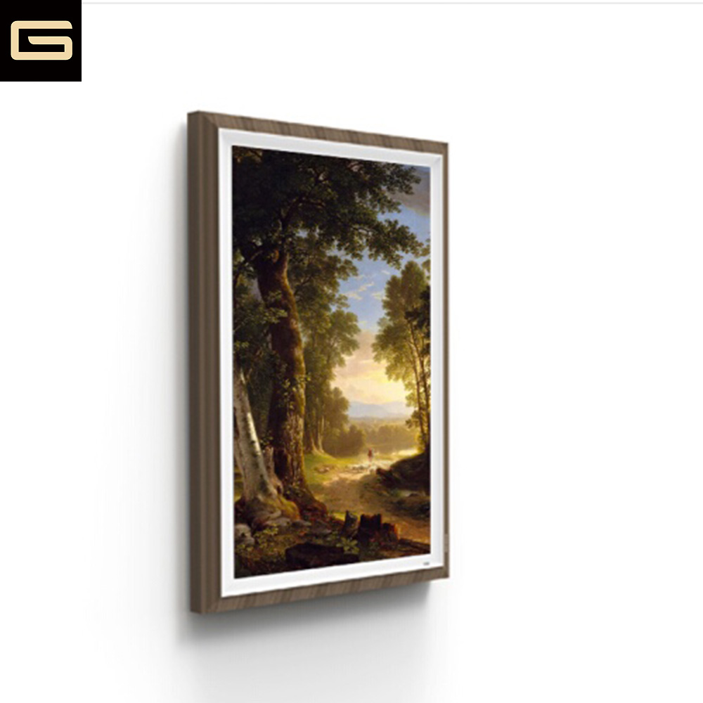 Modern Digital Canvas Frame 2K Wifi Photo Display Screen for Canvas