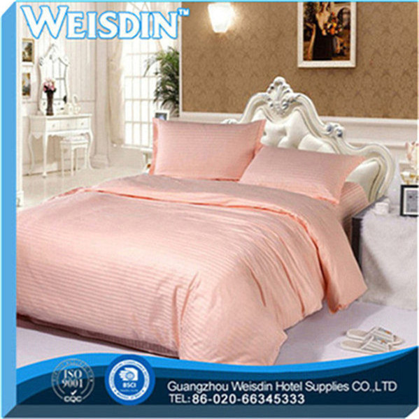 king bed new style satin fabric pink egypt long stapled cotton home bedding set