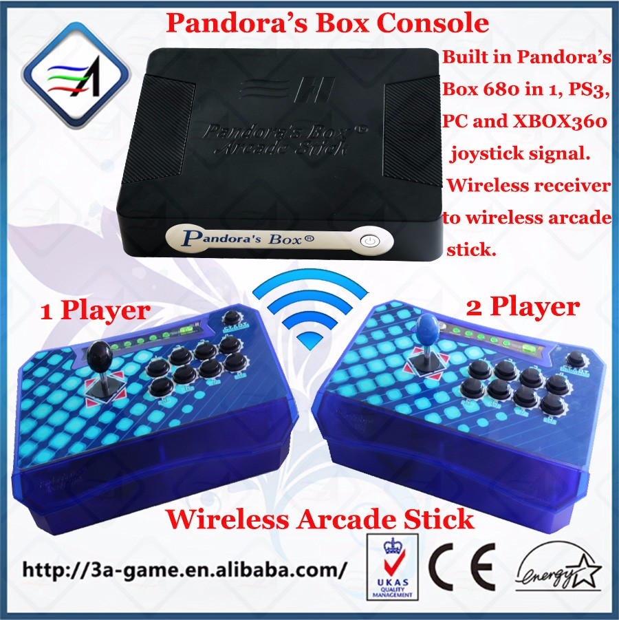 HTB1iPY2OFXXXXaZXFXXq6xXFXXX9 arcade stick controller for pandora box 4s 680 games ps3 xbox360  at bakdesigns.co