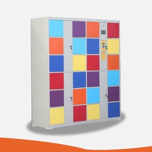 24 door Coin operated electronic storage cabinet