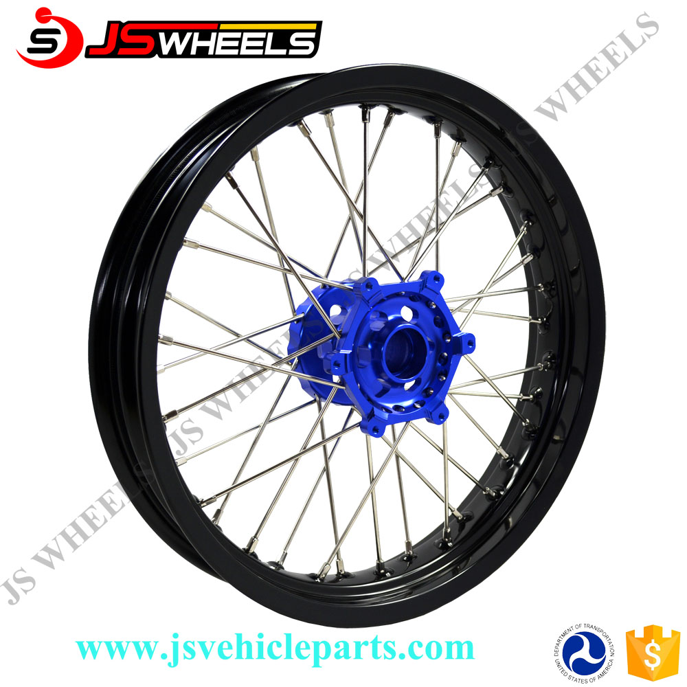 17 Inch Racing Off-road Motorcycle Alloy CNC spoked wheels for YZF 450F