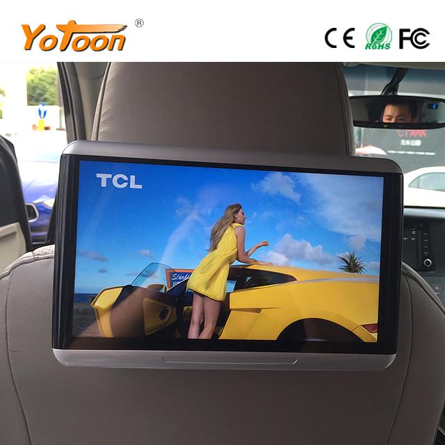 auto kopfst tze monitor android mit wifi tf usb 10 6 zoll. Black Bedroom Furniture Sets. Home Design Ideas