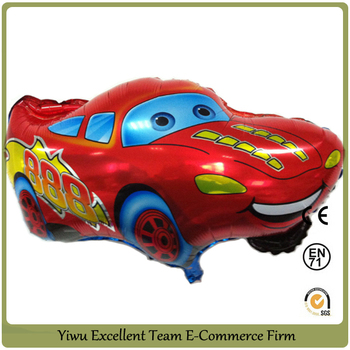 2012 new character car foil balloon helium balloon