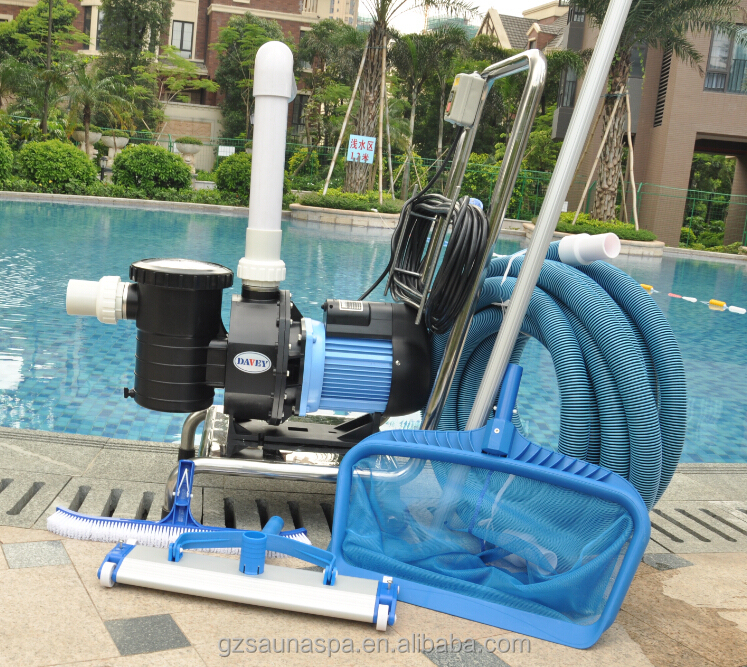 Luxury swimming pool cleaning kit hand vacuum cleaner buy commercial pool vacuum cleaner for Swimming pool cleaning products