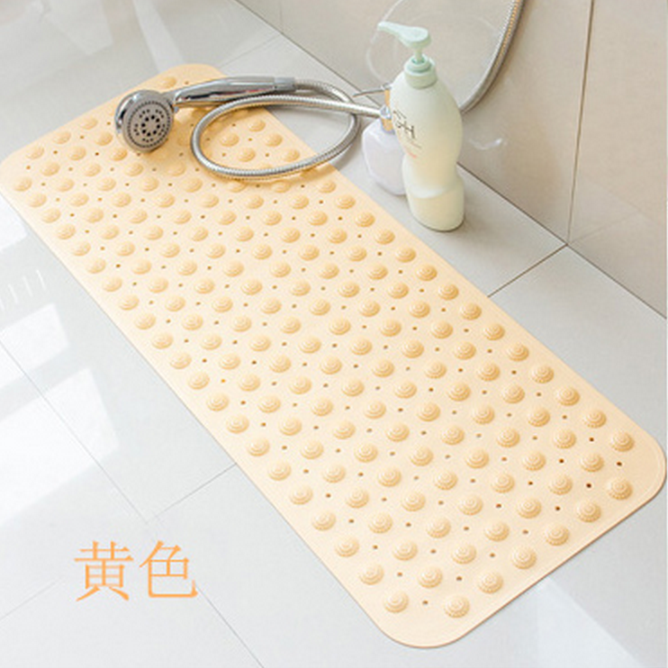 Bath Mats Home & Garden Non Slip Bath Mat With Suction Cups Drain Hole Bathroom Kitchen Door Floor Tub Shower Safety Mats Anti-bacteria Bathroom Supply Ample Supply And Prompt Delivery