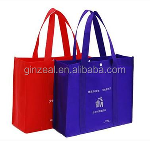 Promotional Tote Plastic Gift Shopping Non Woven Bag for Women