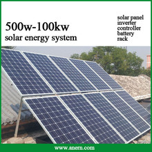 5KW off grid solar energy generating power system for home use