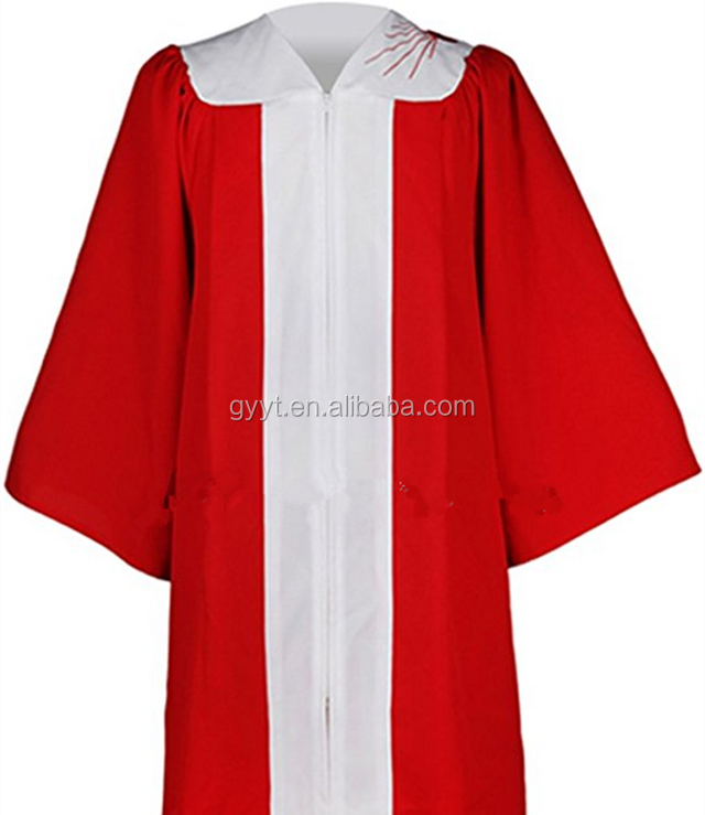 Choir Robe For Church In White Gown Mass Church Service Vestment ...