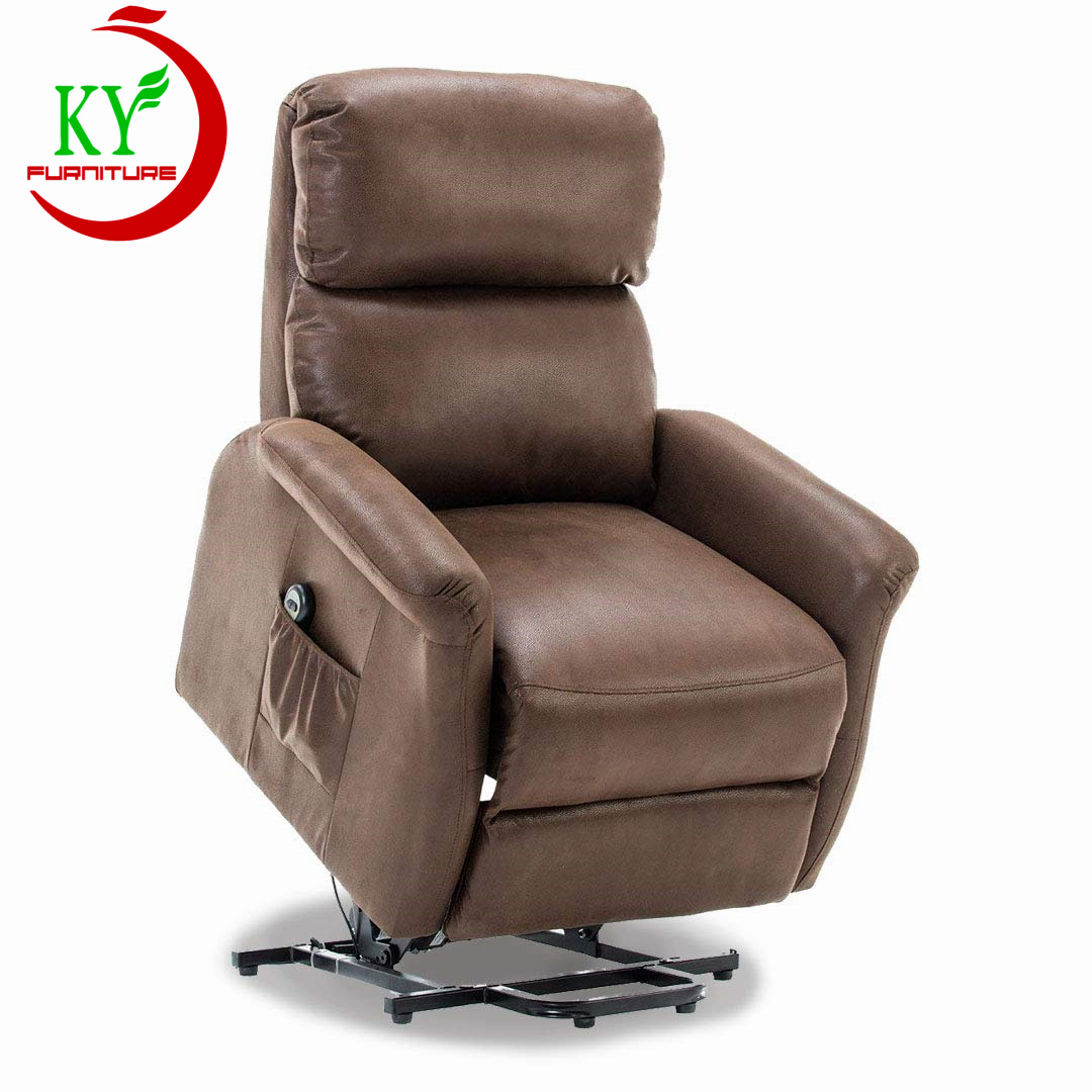 JKY Customized Living Room theater cinema Fabric Relaxing Design Hotel Fabric Electric lift okin Recliner Armchair sofa