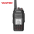 Dual band walkie talkie 10 km gama T-650UV scanner de rádio analógico