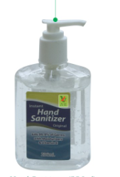 2017 Waterless Instant Hand Sanitizers 236ml