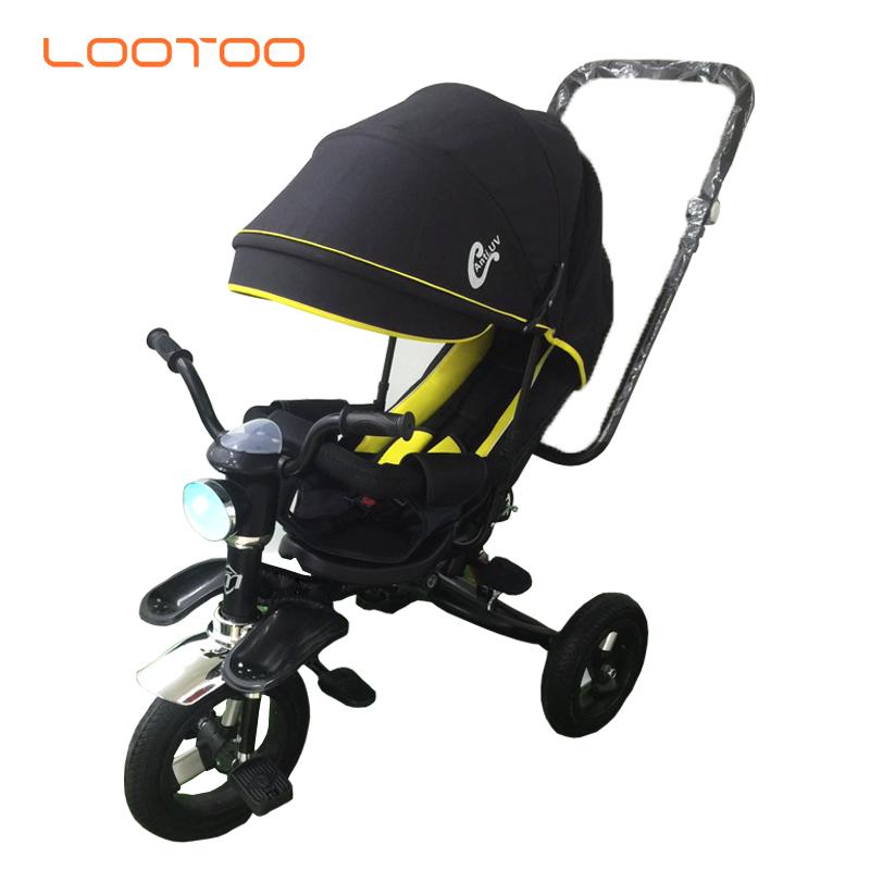alibaba trade assurance supplier hot sale 3 wheel EVA tire baby walker tricycle