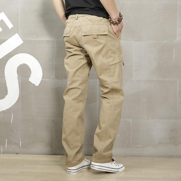 2019 China wholesale pants men sports plus velvet, oem solid boys tactical pants military
