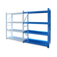 Customized steel metal rack slotted angle shelves for warehouse rack