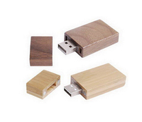 Promotion gift wooden/bamboo usb flash drive 4gb 8gb 16gb with free logo