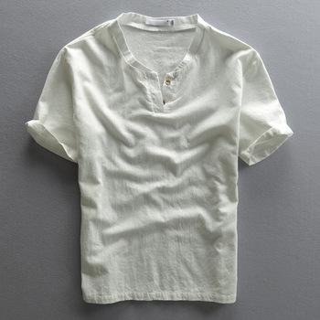 80d473ba6 Latest Linen Fabric Blank Shirt Designs For Men 2016 - Buy Linen ...