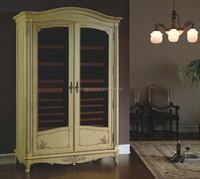 Frech Cellar Design Solid Oak Red Wine Refrigeration Storage Wine Cabient Wine Cabinet Furniture