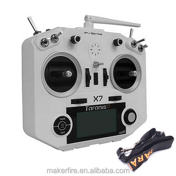 Made by Makerfire radio transmitter price FrSky ACCST Taranis Q X7 2.4GHz 16CH Transmitter With RX8R/XMPF3E/XSRF3E