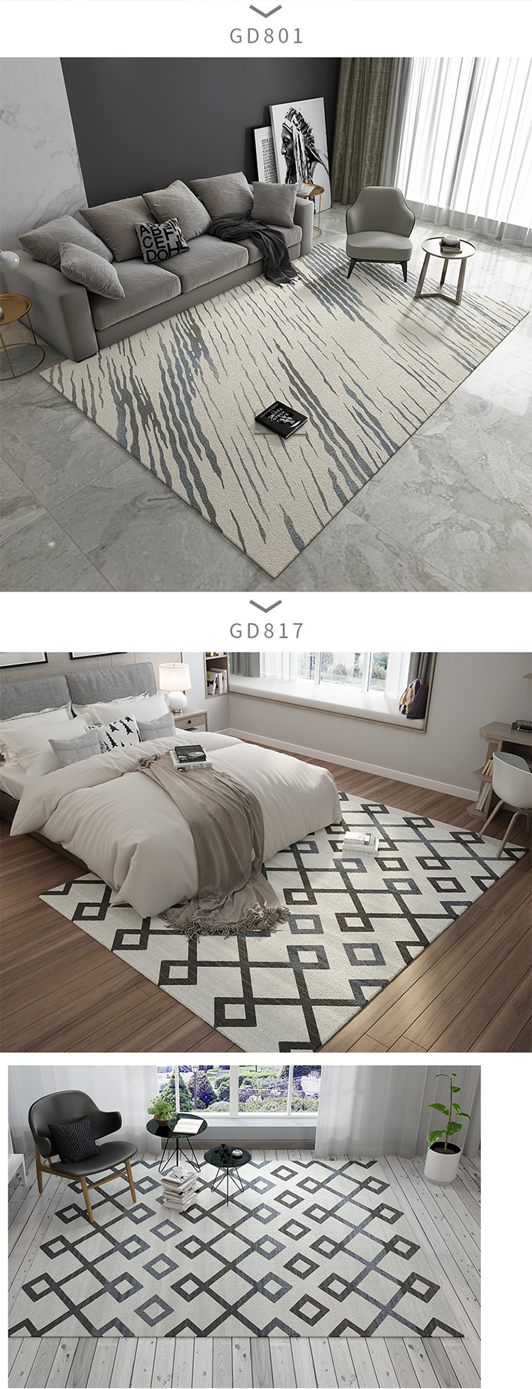 Оптовые Заказные плотные машинные коврики, сделанные в Турции