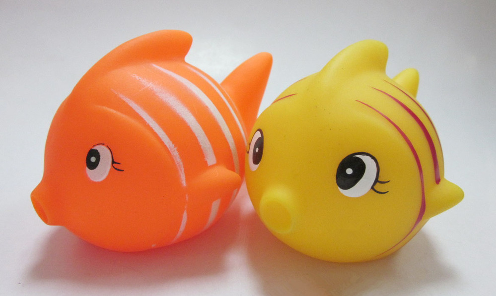 Baby spout faucet cover fish bath toy buy bath toy pvc for Rubber fish toy