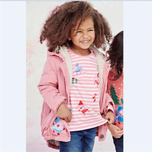 Wholesale Baby Girls Cotton Cartoon Striped Kids T Shirts Tops Children Clothings