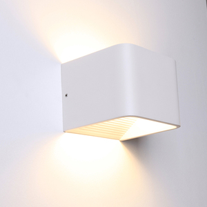 ( In Stock) Indoor Led Wall Light for Hotel Art Deco Wall Mount Up and Down Light Wall Lamp Modern