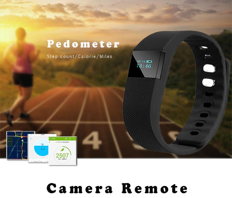 Intelligent health fitness tracker with calorie sleep monitor waterproof smart wristband bluetooth sport fitbit